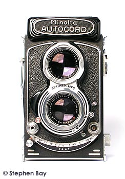 Minolta Autocord TLR with Optiper shutter