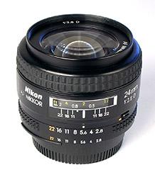 Nikon 24mm f/2.8 lens