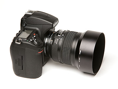 Figure 1. The Nikon D700 camera with the 85mm f/1.4 lens