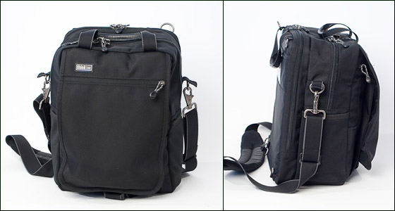 Front and side views of the Urban Disguise 35.