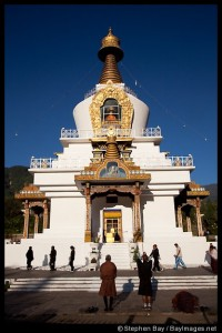 National Memorial Chorten in Thimphu, Bhutan.