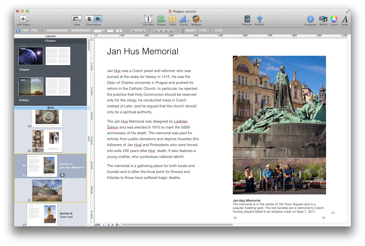 Creating Photo Books in iBooks Author for iPads