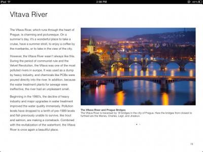Vltava River Page