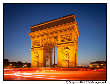 Arc de Triomphe. Paris, France.