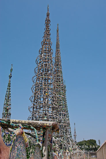 Watts Towers. Watts, Los Angeles, California, USA.