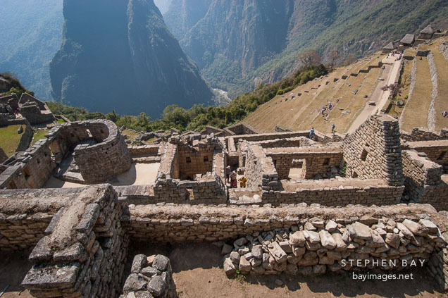 Temple of the Sun. Machu Picchu, Peru.