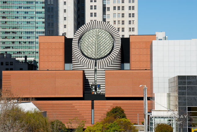 Photo san francisco museum of modern art seen from yerba for Museum craft design san francisco