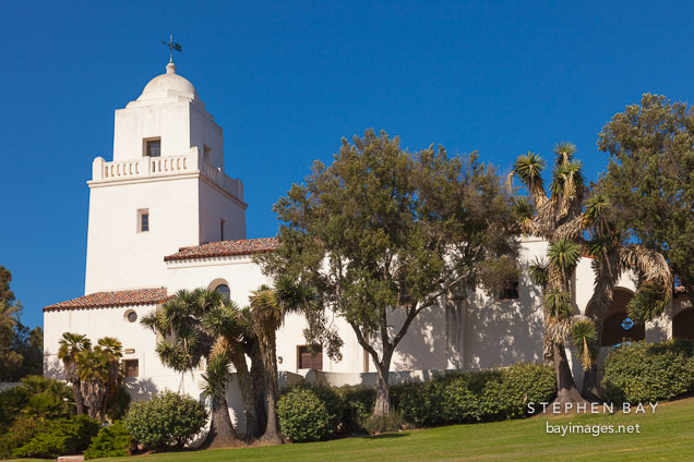 Junipero Serra museum. San Diego, California.