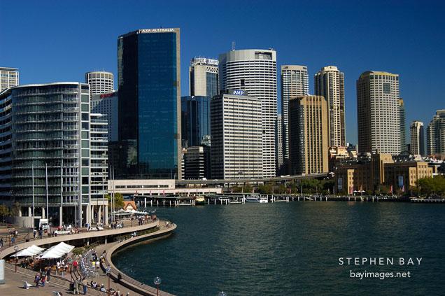 Sydney Cove and Circular Quay. Sydney, Australia.