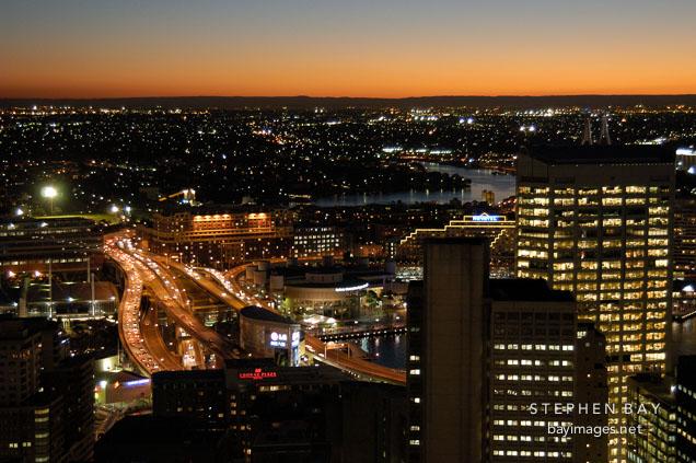 Sydney at night. Sydney, Australia.