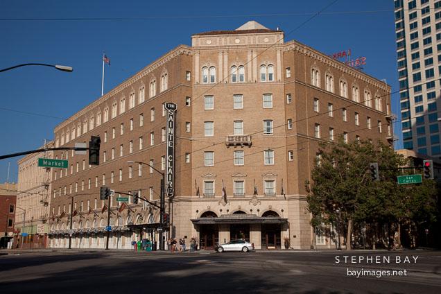 Sainte Claire Hotel. San Jose, California.