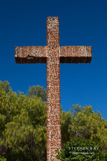 Serra Cross. Presidio Park, San Diego.