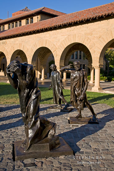 The Burghers of Calais. Stanford University.
