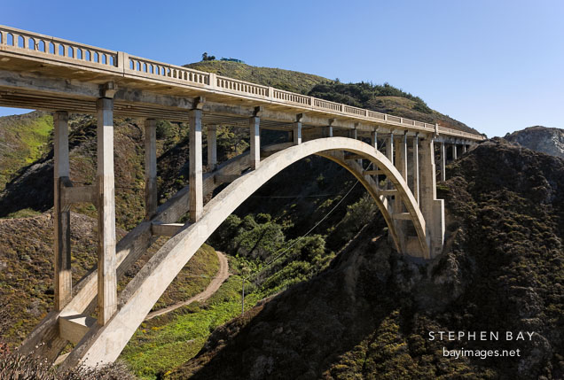 Rocky Creek Bridge. Big Sur, California, USA.