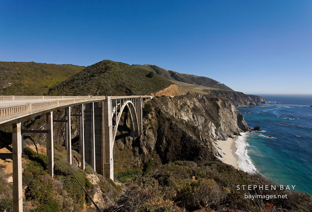 Bixby Bridge. Big Sur, California, USA.