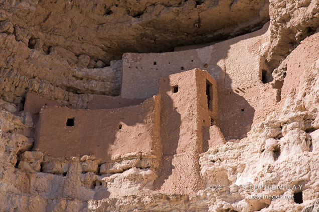 Close-up of Montezuma Castle. Arizona, USA.