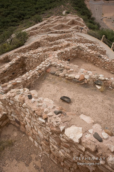 Tuzigoot village. Tuzigoot National Monument, Arizona, USA.