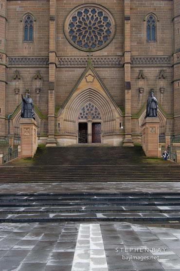 St. Mary's Cathedral, Sydney, Australia.
