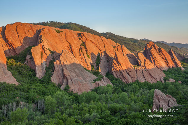 Fountain formation at Roxborough State Park, Colorado.