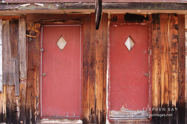 Motel doors. Tortilla Flat Arizona USA. & Photo: Motel doors. Tortilla Flat Arizona USA.