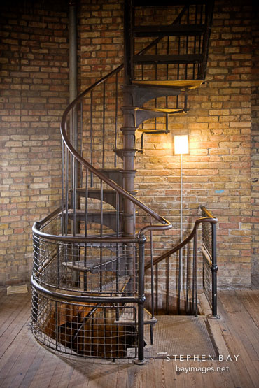 Photo Spiral Staircase In The Scottish Tower Casa Loma Toronto