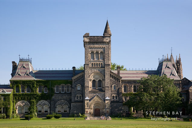 University college building university of toronto toronto canada