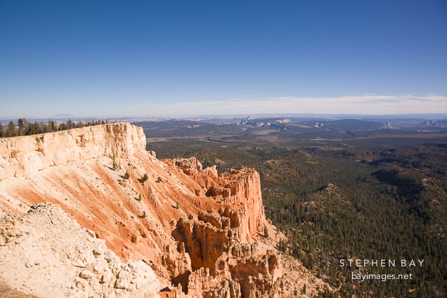 View from Yovimpa Point, Bryce Canyon NP, Utah.