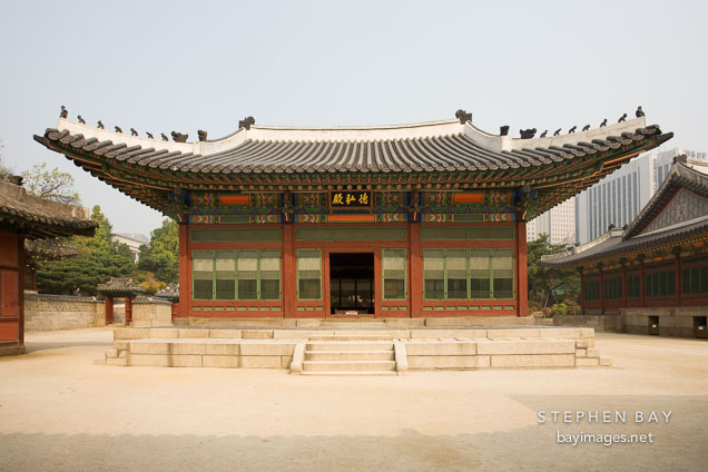 Deokhongjeon Hall.