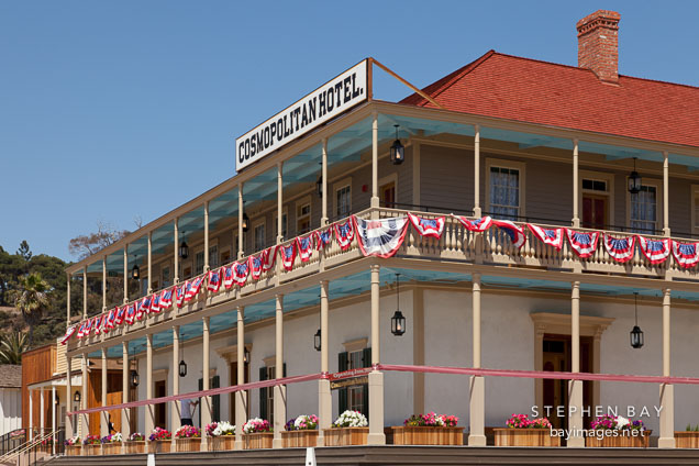 Cosmopolitan Hotel in Heritage Park. San Diego.