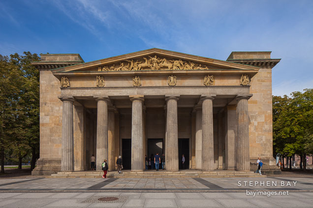 Neue Wache memorial. Berlin, Germany