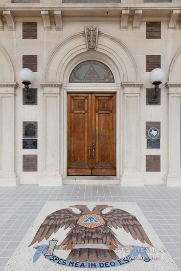 Scottish Rite Cathedral. Dallas, Texas.