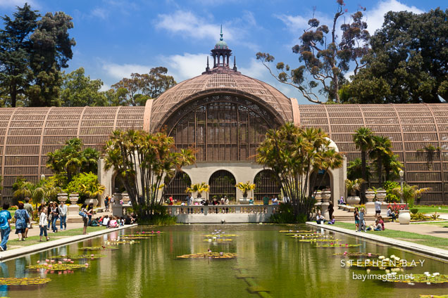 Botanical Building. Balboa Park, San Diego.