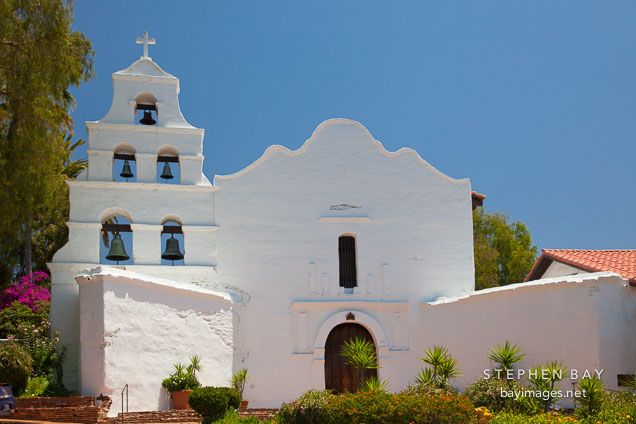 Mission San Diego de Alcala.