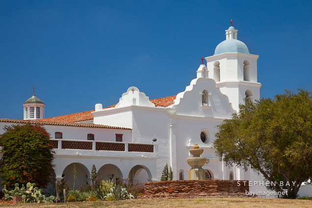 Mission San Luis Rey. Oceanside, California.
