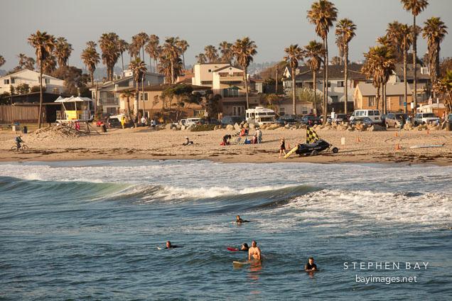 Ocean beach. San Diego.