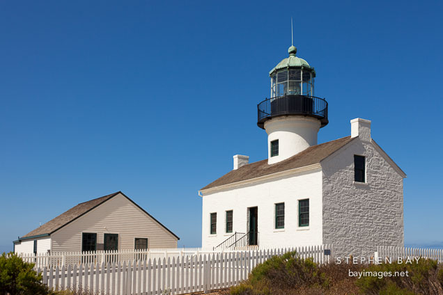 Old Point Loma Lighthouse. San Diego.