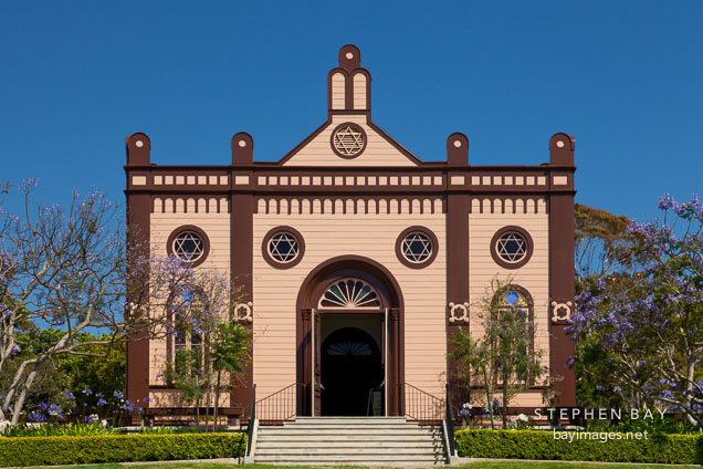 Temple Beth Israel. San Diego, California.