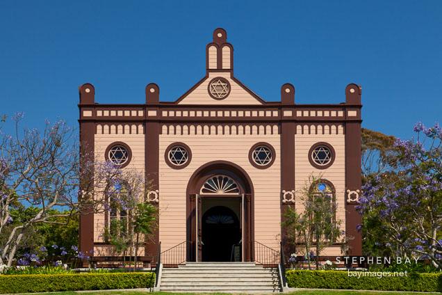 Temple Beth Israel. San Diego, California.
