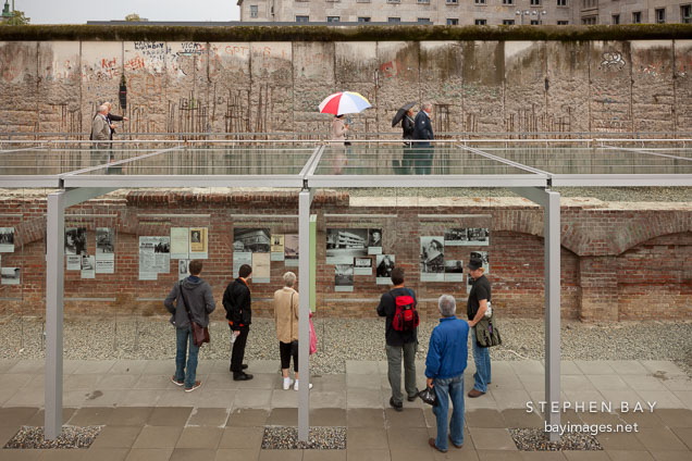 Exhibition at the site of the Topography of Terror. Berlin, Germany.