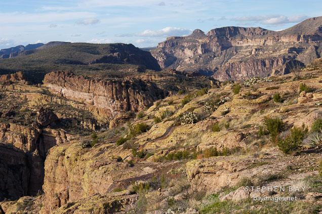 Fish Creek Hill, Tonto National Forest. Apache Trail, Arizona, USA.