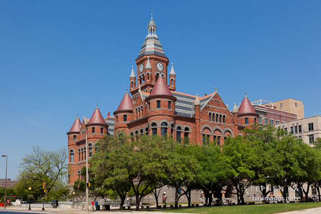 Old Red Courthouse. Dallas, Texas.