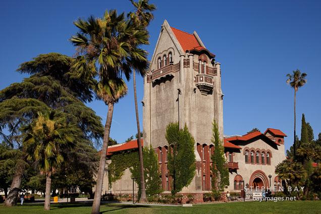Tower Hall at San Jose State University.