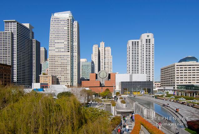 Photo Yerba Buena Gardens San Francisco California Usa