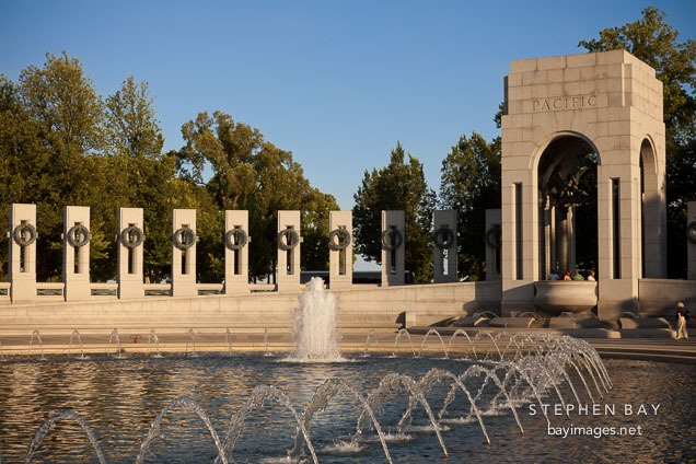National World War II Memorial. Washingon, D.C.
