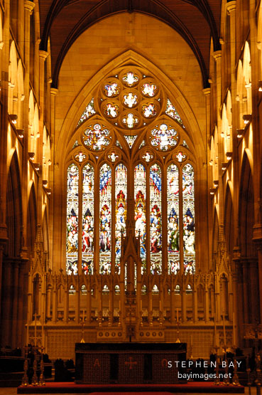 St. Mary's Cathedral, Sydney, Australia.