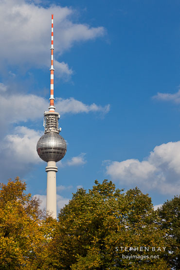 Television tower. Berlin, Germany