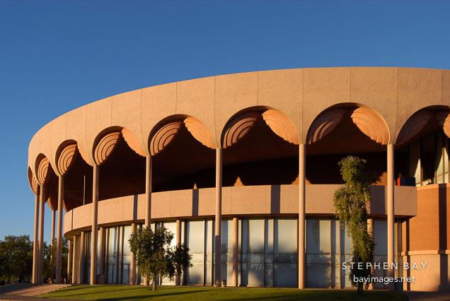 Grady Gammage Memorial Auditorium at Arizona State University. Tempe, Arizona.