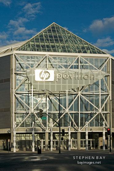 HP Pavilion. San Jose, California, U.S.A.