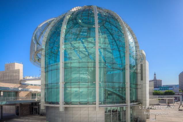 Photo: Glass dome at San Jose City Hall.: bayimages.net/view-photos/glass-dome-san-jose-city-hall-32078.html