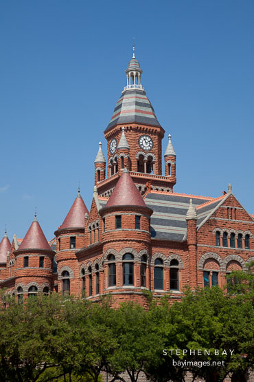 Old Red, former Dallas County Courthouse.